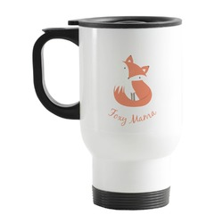 Foxy Mama Stainless Steel Travel Mug with Handle