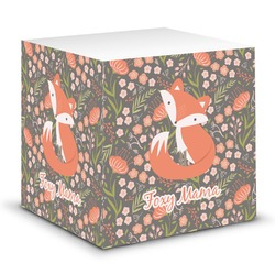 Foxy Mama Sticky Note Cube
