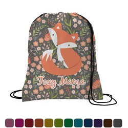Foxy Mama Drawstring Backpack