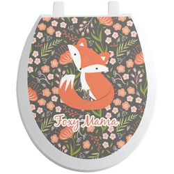 Foxy Mama Toilet Seat Decal