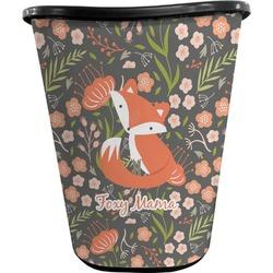 Foxy Mama Waste Basket - Double Sided (Black)