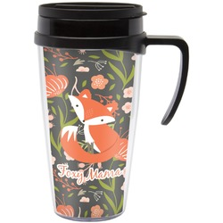 Foxy Mama Travel Mug with Handle