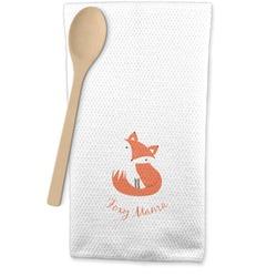 Foxy Mama Waffle Weave Kitchen Towel