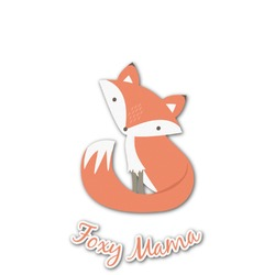 Foxy Mama Graphic Decal - Custom Sized