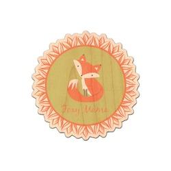 Foxy Mama Genuine Wood Sticker