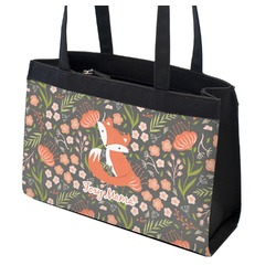Foxy Mama Zippered Everyday Tote