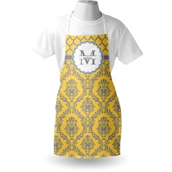 Damask & Moroccan Apron (Personalized)