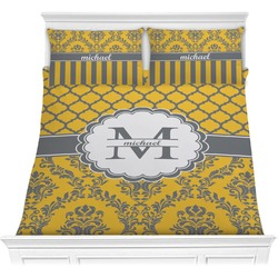 Damask & Moroccan Comforter Set (Personalized)
