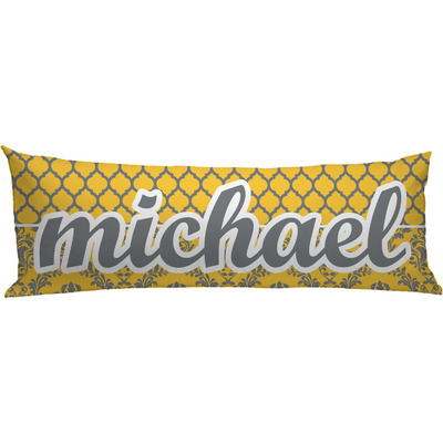 Damask & Moroccan Body Pillow Case (Personalized)