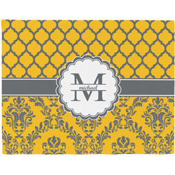 Damask & Moroccan Placemat (Fabric) (Personalized)