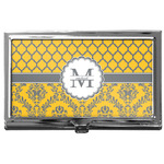 Damask & Moroccan Business Card Case