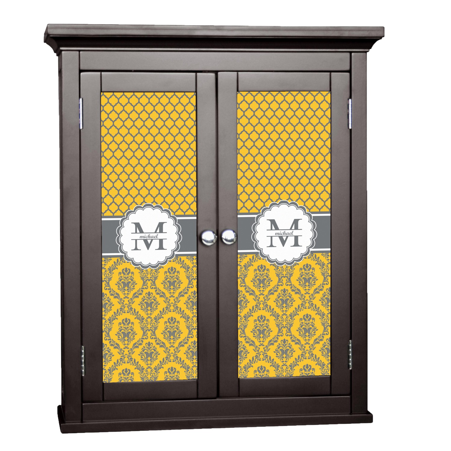 Damask U0026 Moroccan Cabinet Decal   Custom Size (Personalized)