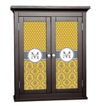 Damask & Moroccan Cabinet Decal - Custom Size (Personalized)