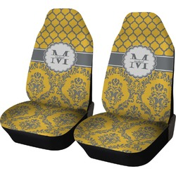Damask & Moroccan Car Seat Covers (Set of Two) (Personalized)