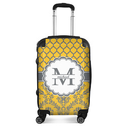 Damask & Moroccan Suitcase (Personalized)