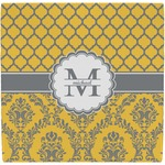 Damask & Moroccan Ceramic Tile Hot Pad (Personalized)