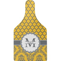 Damask & Moroccan Cheese Board (Personalized)