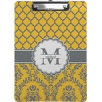 Damask & Moroccan Clipboard (Personalized)