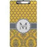Damask & Moroccan Clipboard (Legal Size) (Personalized)