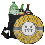 Damask & Moroccan Collapsible Cooler & Seat (Personalized)