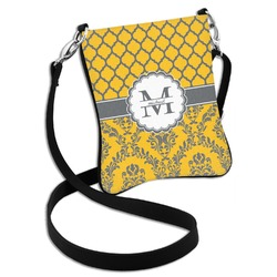 Damask & Moroccan Cross Body Bag - 2 Sizes (Personalized)
