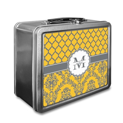Damask & Moroccan Lunch Box (Personalized)