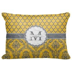 "Damask & Moroccan Decorative Baby Pillowcase - 16""x12"" (Personalized)"