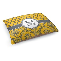 Damask & Moroccan Dog Pillow Bed (Personalized)