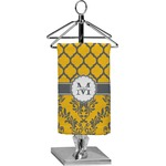 Damask & Moroccan Finger Tip Towel - Full Print (Personalized)