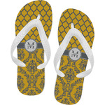 Damask & Moroccan Flip Flops (Personalized)