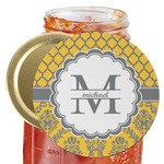 Damask & Moroccan Jar Opener (Personalized)
