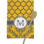 Damask & Moroccan Kitchen Towel - Full Print (Personalized)
