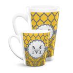 Damask & Moroccan Latte Mug (Personalized)