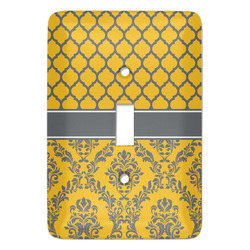 Damask & Moroccan Light Switch Covers - Multiple Toggle Options Available (Personalized)