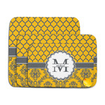 Damask & Moroccan Memory Foam Bath Mat (Personalized)