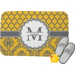 Damask & Moroccan Memory Foam Bath Mat (Personalized)