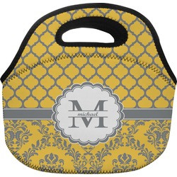Damask & Moroccan Lunch Bag (Personalized)