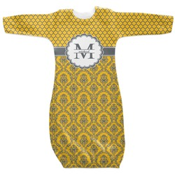 Damask & Moroccan Newborn Gown (Personalized)