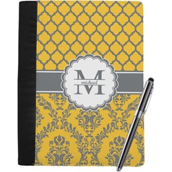 Damask & Moroccan Notebook Padfolio (Personalized)