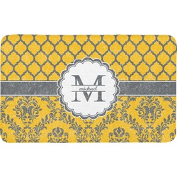Damask & Moroccan Bath Mat (Personalized)
