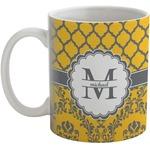 Damask & Moroccan Coffee Mug (Personalized)