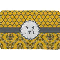 Damask & Moroccan Comfort Mat (Personalized)