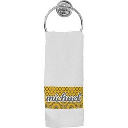 Damask & Moroccan Hand Towel (Personalized)