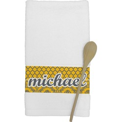 Damask & Moroccan Kitchen Towel (Personalized)