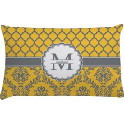 Damask & Moroccan Pillow Case - King (Personalized)