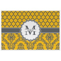 Damask & Moroccan Placemat (Laminated) (Personalized)