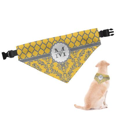 Damask & Moroccan Dog Bandana (Personalized)