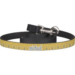 Damask & Moroccan Pet / Dog Leash (Personalized)