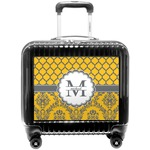 Damask & Moroccan Pilot / Flight Suitcase (Personalized)