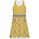 Damask & Moroccan Racerback Dress (Personalized)